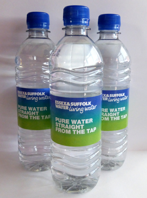 tap into bottled tap water